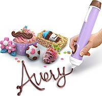 Набор с кулинарной ручкой, шоколадом и 50 формами для изготовления конфет Real Cooking Chocolate Pen из США