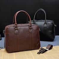 Стильная вместительная мужская сумка.