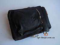 Мужская черная сумка-месенджер GiorgioArmani