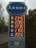 """Комплект электронных  информационных табло для автозаправок """"PS2-320S"""" (высота символа 320 мм), фото 5"""