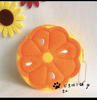 Кошелёчек апельсин апельсинчик оранжевый 3D кошелёк фрукт