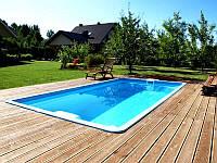 Композитный бассейн KORO 5,00 x 2,65 x 1,40 м