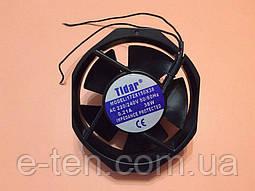Вентилятор осьовий універсальний Tidar 172мм*150мм*38мм / 220-240V / 0,21 А / 38W ( РОМБ )