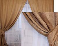 Комплект готовых штор для спальни