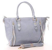 Женская кожаная сумка 1016 BLUE. Женские сумки из натуральной кожи купить дешево в Одессе
