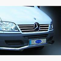 Окантовка решетки радиатора Mercedes Sprinter (7 шт)