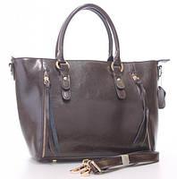 Женская кожаная сумка 1016 COFFEE. Женские сумки из натуральной кожи купить дешево в Одессе