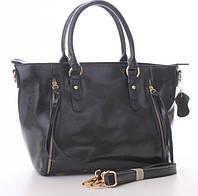 Женская кожаная сумка 1016 BLACK. Женские сумки из натуральной кожи купить дешево в Одессе
