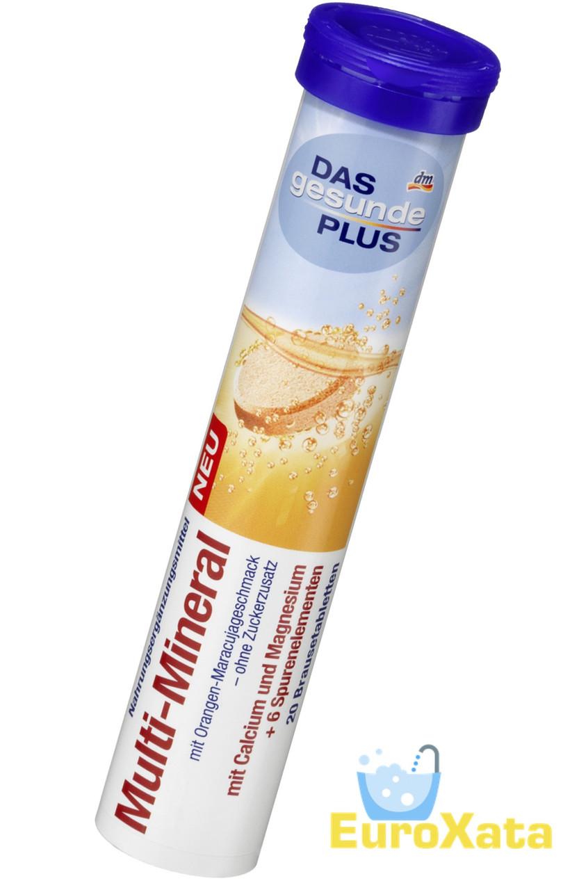 Витамины DM Das gesunde Plus Multi-Mineral шипучие таблетки