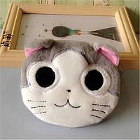 3d cat кошелёчек кошелёк котёнок 3д милый котик на замочке