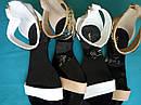 Летние женские босоножки Vices Польша Цвет белый Размер 39, фото 7