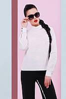 Белая женская рубашка Venice Fashion UP 42-48 размеры