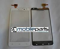 Оригинальный Сенсор (Тачскрин) для Prestigio MultiPhone PAP 5044 (Белый)