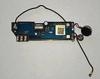 Нижняя плата Blackview BV2000+ микрофон (оригинал б.у.)