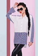 Стильная женская рубашка Sidne Fashion UP 42-46 размеры