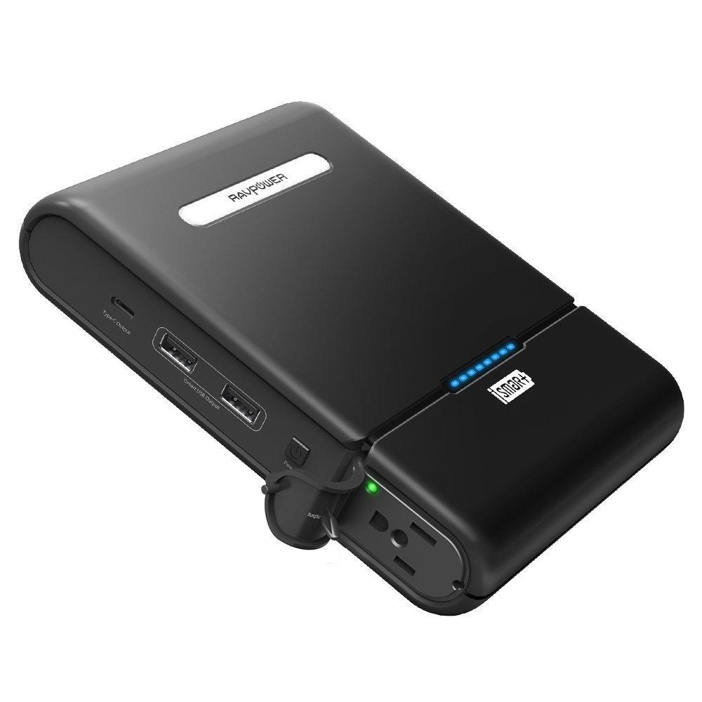 Внешнее зарядное устройство RavPower Power Bank 27000 mah + чехол Уценка