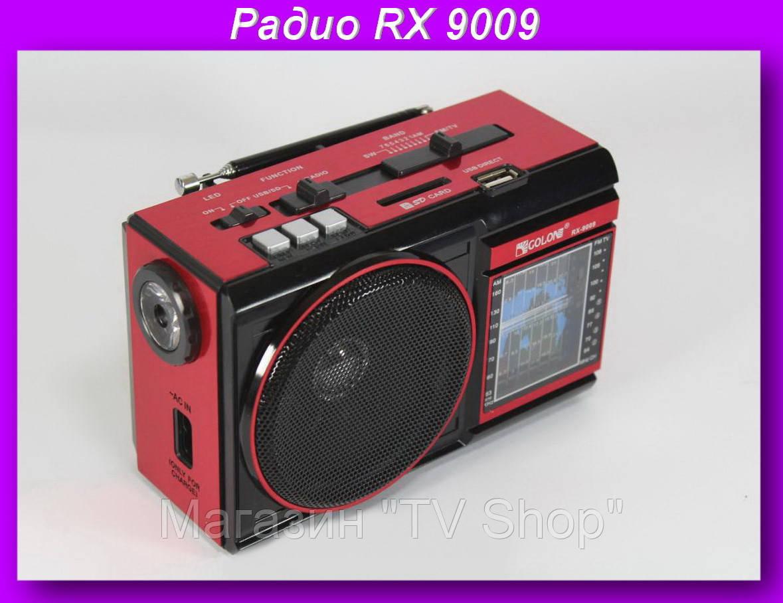 """Радио RX 9009 c led фонариком,Компактный радио-фонарь Golon - Магазин """"TV Shop"""" в Николаеве"""