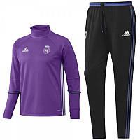 Спортивный костюм Adidas, Реал Мадрид. Футбольный, тренировочный. Сезон 16/17 (реплика) S (46-48)