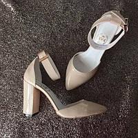 Женские туфли AVK на высоком каблуке Olimpia натуральные кожа/замша AV0025