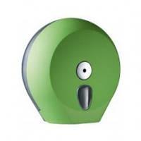 756VE Держатель туалетной бумаги Джамбо зеленый пластик