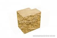 Блок декоративный угловой полнотелый Силта Брик