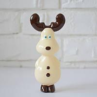 """Шоколадная фигура """"Олененок"""", КЛАССИЧЕСКОЕ сырье. Размер: 135х43х60мм, вес 90г, фото 1"""