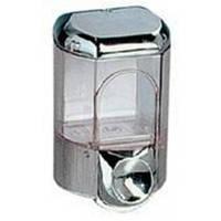 561С  Дозатор жидкого мыла пластик хром