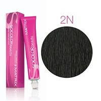 Соколор Бьюти, стойкая крем-краска для волос, оттенок 2 N, 90 мл
