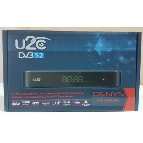 Спутниковый ресивер тюнер приставка Mpeg 4 U2C Denys