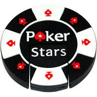 Флешка для мужчин фишка покерная в подарочном футляре