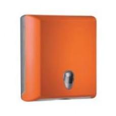 Держатель полотенец бумажных пластик оранжевый