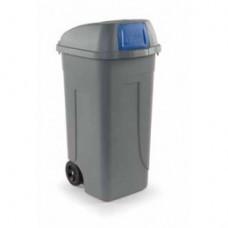 100P-BLB Контейнер для мусора 100л PUSH