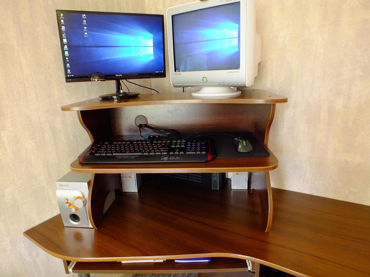 Надставка на стол для работы стоя на компьютере