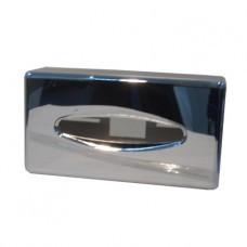 687C Держатель косметических салфеток пластик хром