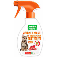 Спрей Api San Защита мест, не предназначенных для туалета для кошек 250 мл.