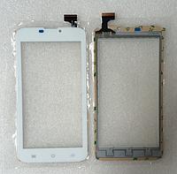 Оригинальный тачскрин / сенсор (сенсорное стекло) для Explay Tab Mini (белый цвет, самоклейка)