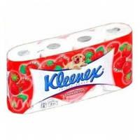 Туалетная бумага Kleenex целлюлозная 3 сл.