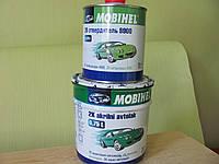 Акриловая автокраска MOBIHEL Темно-синяя № 456 (0,75 л) + отвердитель 9900 0,375 л