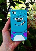 Силиконовый чехол Салливан iPhone 4S/4, Салли