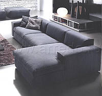 Трех секционный диван с шезлонгом без предоплаты.
