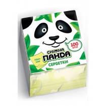 Салфетки Panda 25*25,100 шт