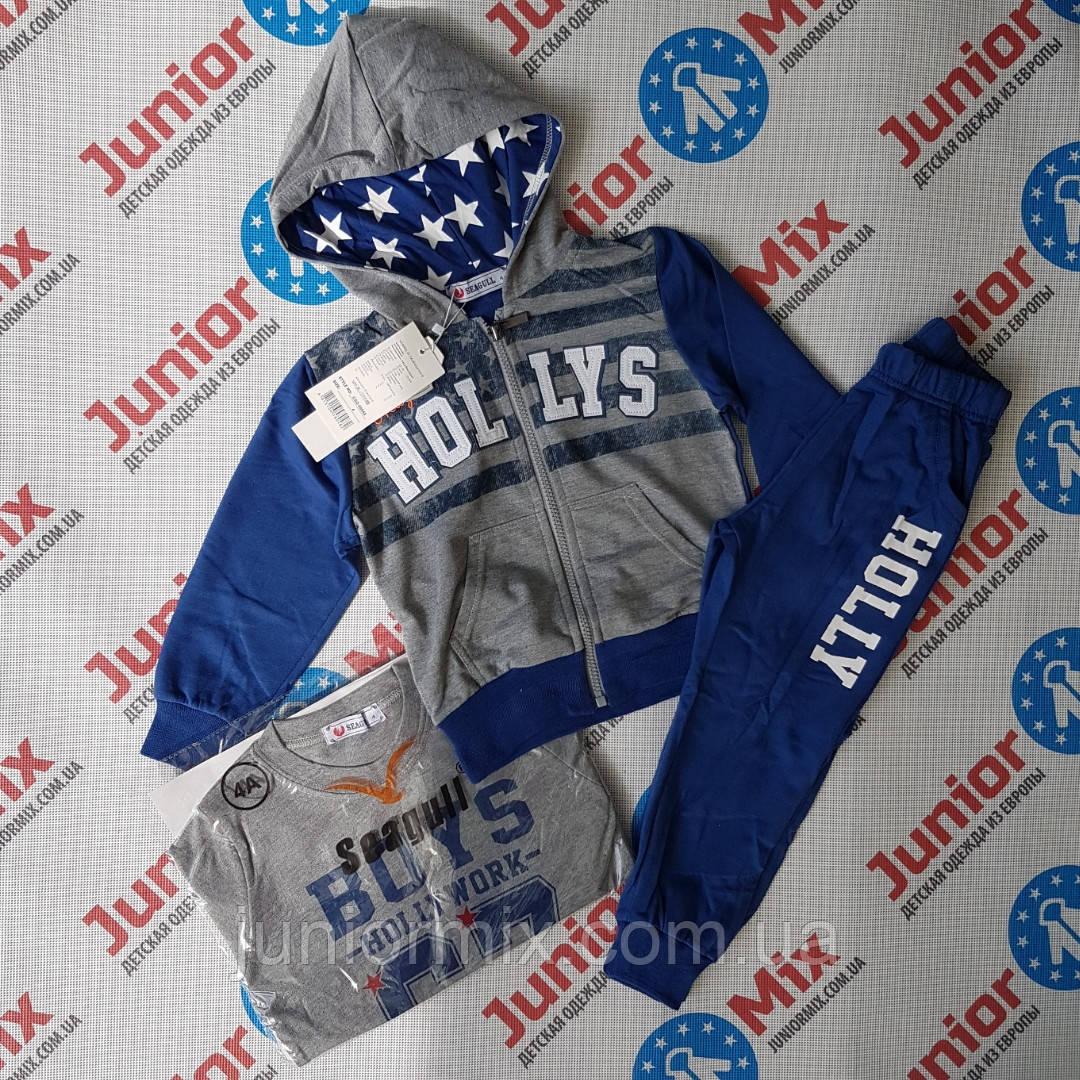 cadd6b0c Купить Трикотажный спортивный костюм на мальчика SEAGULL в ...