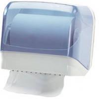 602 Универсальный держатель полотенец пластик прозрачный