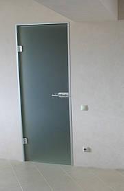 Дверь межкомнатная из матового стекла