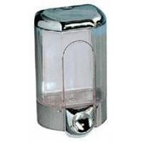 563С  Дозатор жидкого мыла пластик хром