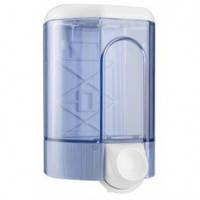 563T  Дозатор жидкого мыла пластик прозрачный