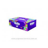 Салфетки SOLO в коробке 2х слойные 150 шт