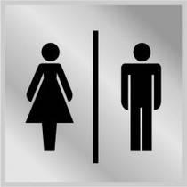 "3004 Табличка ""Туалет """