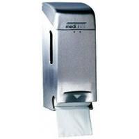 PR0784CS Держатель туалетной бумаги нержавейка матовая  на 2 рулона