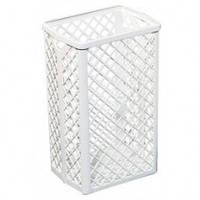 510 Корзина-сетка для полотенец пластмассовая